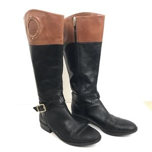 Vince Camuto Phillie Tall Wide Calf Riding Boots